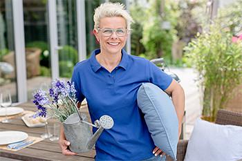 Barbara Loga, Wohngartenberaterin