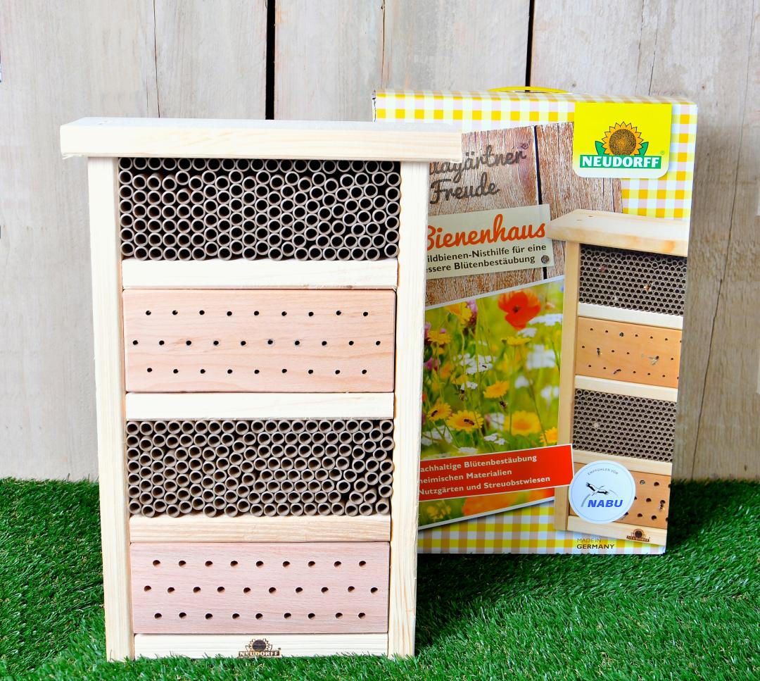 Das Bild vone einem Bienenhaus / Insekten-hotel